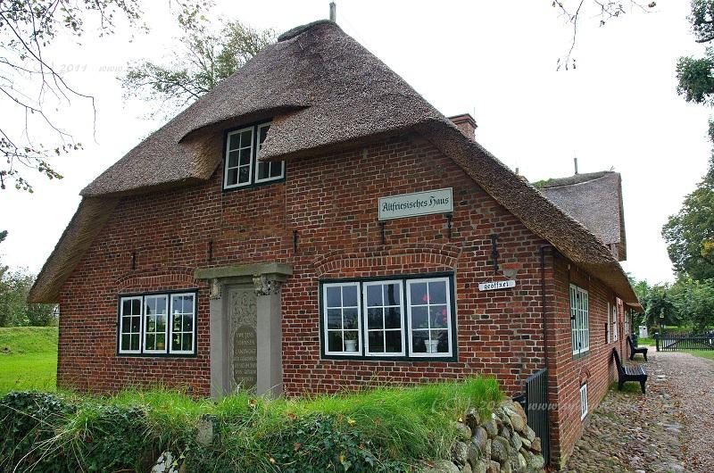 Insel Sylt Keitum altfriesisches Haus Museum